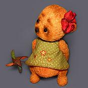 Куклы и игрушки ручной работы. Ярмарка Мастеров - ручная работа Мишка тедди Варенька. Handmade.
