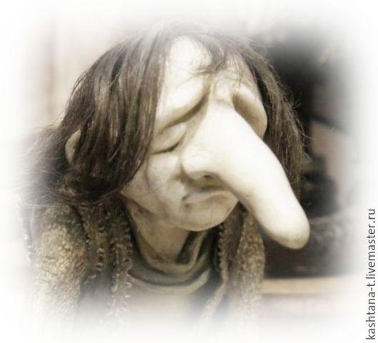 """Сказочные персонажи ручной работы. Ярмарка Мастеров - ручная работа. Купить кукла """"Карлик нос"""". Handmade. Хаки, каркас"""
