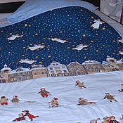 """Для дома и интерьера ручной работы. Ярмарка Мастеров - ручная работа Детское одеяло """"Рождество"""". Handmade."""