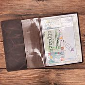 Сумки и аксессуары handmade. Livemaster - original item Hanoi leather document organizer for 4 sets. Handmade.