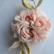 Украшения handmade. Livemaster - original item silk flowers brooch versailles. Handmade.