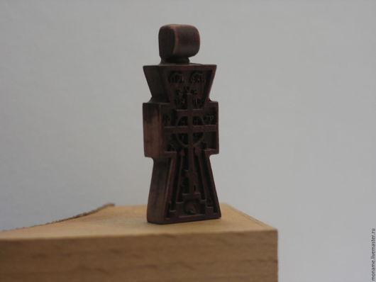 Кулоны, подвески ручной работы. Ярмарка Мастеров - ручная работа. Купить Резной нательный крестик. (Арт.001). Handmade.