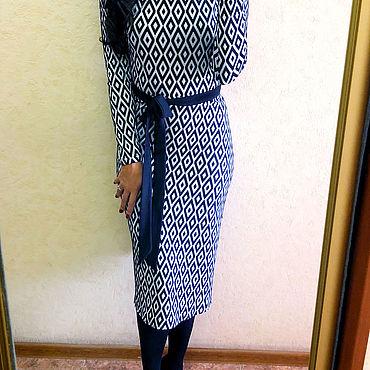 Одежда ручной работы. Ярмарка Мастеров - ручная работа Платье Лика 045. Handmade.