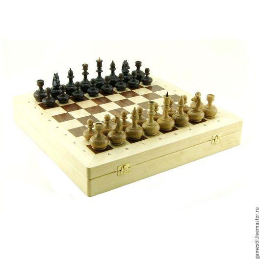 Настольные игры ручной работы. Ярмарка Мастеров - ручная работа. Купить Шахматы «Классические» берёза. Handmade. Шахматы, берёза