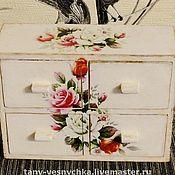 Для дома и интерьера handmade. Livemaster - original item Mini dresser Rose. Handmade.