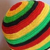 Субкультуры handmade. Livemaster - original item HAT-RASTAMANKA knitted unisex. Handmade.