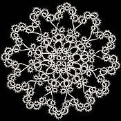 Для дома и интерьера handmade. Livemaster - original item Doily lace. Handmade.