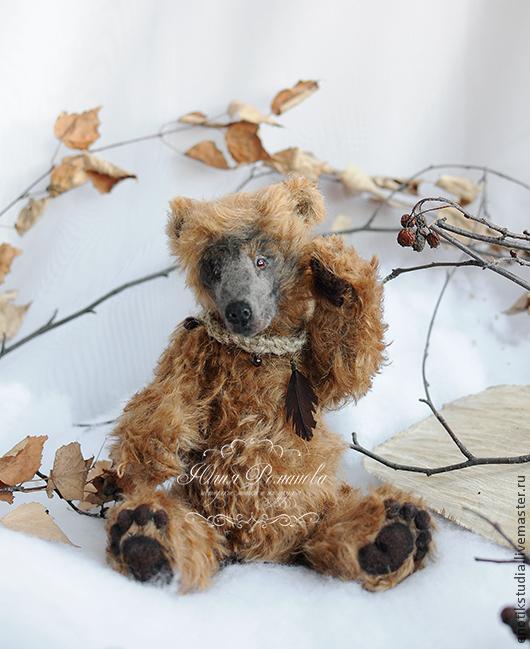 Мишки Тедди ручной работы. Ярмарка Мастеров - ручная работа. Купить медведь Александр. Handmade. Коричневый, тотемные животные