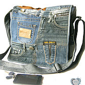 Сумки и аксессуары handmade. Livemaster - original item Shoulder bag large. Handmade.