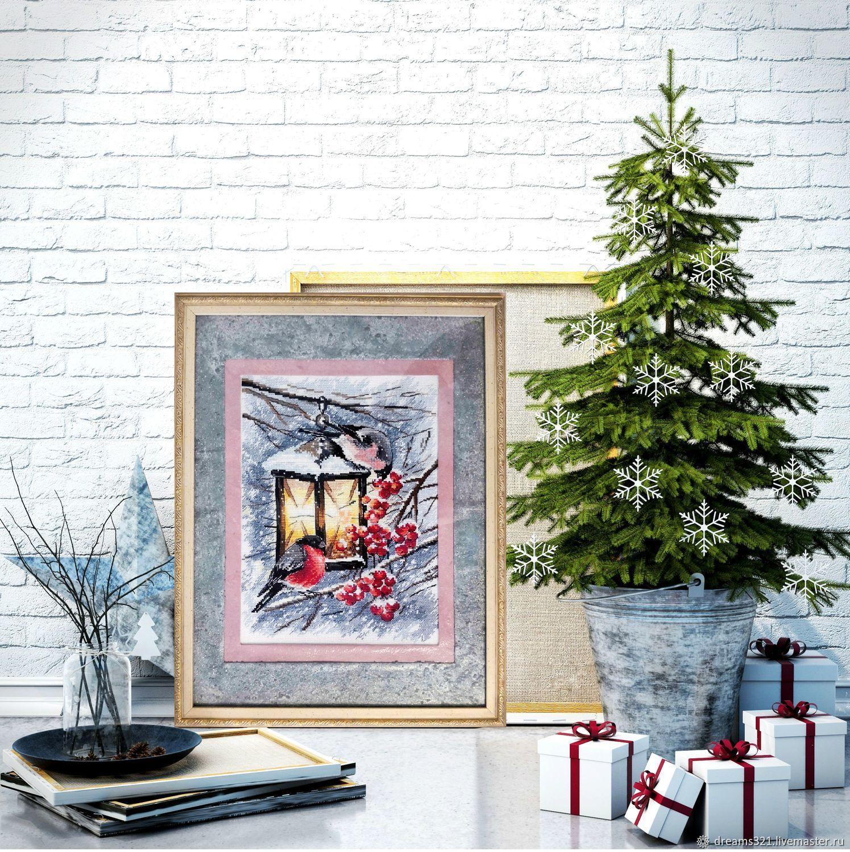 """Вышитая картина """"Рождественский свет"""" от фирмы Овен, Картины, Суходол,  Фото №1"""