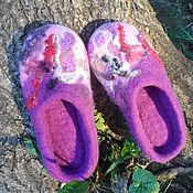 """Обувь ручной работы. Ярмарка Мастеров - ручная работа Тапотули """"Сиреневый вечер"""" варианты. Handmade."""