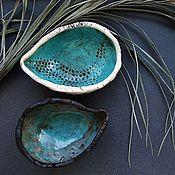 """Посуда ручной работы. Ярмарка Мастеров - ручная работа Комплект """"Инь янь"""". Handmade."""