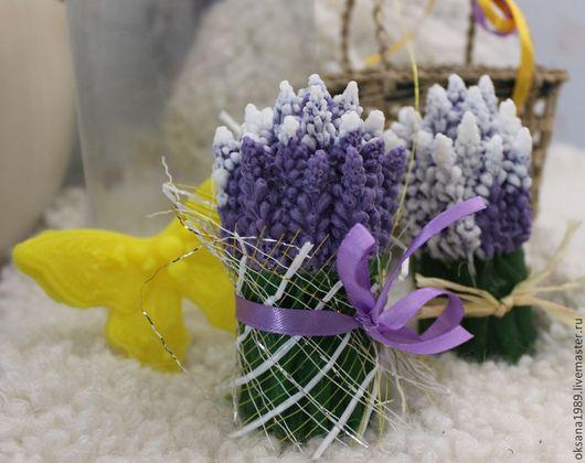 """Мыло ручной работы. Ярмарка Мастеров - ручная работа. Купить Набор """"Французский прованс"""". Handmade. Мыло, цветы, подарок"""