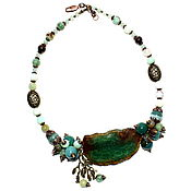 Украшения handmade. Livemaster - original item Necklace made of natural chrysoprase handmade(m). Handmade.