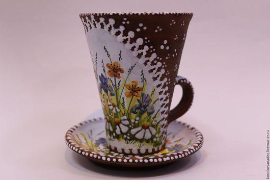 Кружки и чашки ручной работы. Ярмарка Мастеров - ручная работа. Купить Чайная Пара. Handmade. Керамическая чайная пара, для чаепития