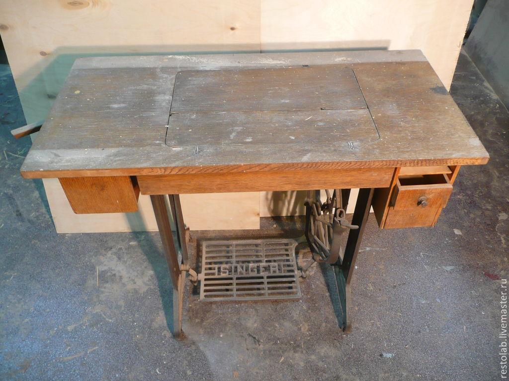 Реставрация швейной машинки зингер своими руками 383