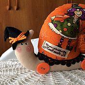 Куклы и игрушки handmade. Livemaster - original item Snails and Halloween. Handmade.