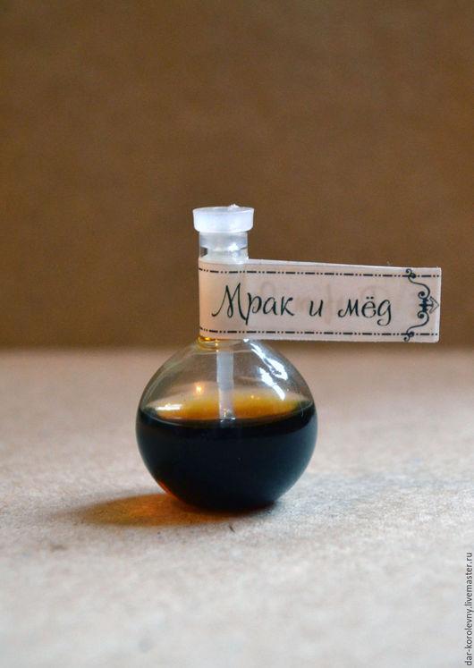 Натуральные духи ручной работы. Ярмарка Мастеров - ручная работа. Купить Мрак и мёд, духи 3 мл. Handmade.