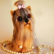 Куклы и игрушки handmade. Livemaster - original item dog FIFA - Yorkshire Terrier. Handmade.