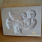Для дома и интерьера handmade. Livemaster - original item Gingerbread boards of wood Bird Sirin. Handmade.