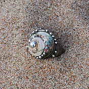 """Украшения ручной работы. Ярмарка Мастеров - ручная работа Кольцо """"Arabian sea"""". Handmade."""