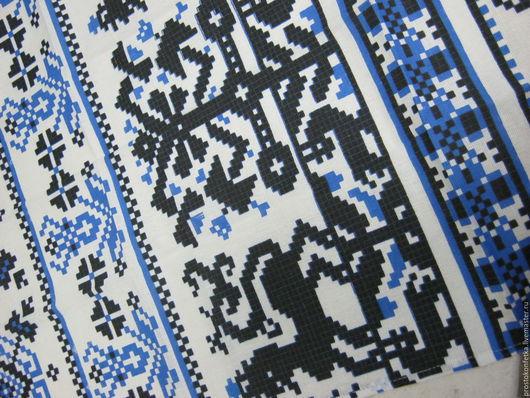Набор  из двух кухонных полотенец, размер 70 см на 45 см (+/- 2 см), состав 50% хлопок 50% лен. Очень хороший состав ткани для кухонного текстиля. Классический рисунок.
