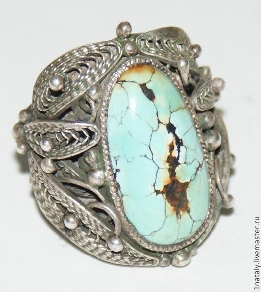 Кольца ручной работы. Ярмарка Мастеров - ручная работа. Купить кольцо с бирюзой. Handmade. Кольцо, кольцо с камнем, бирюза натуральная