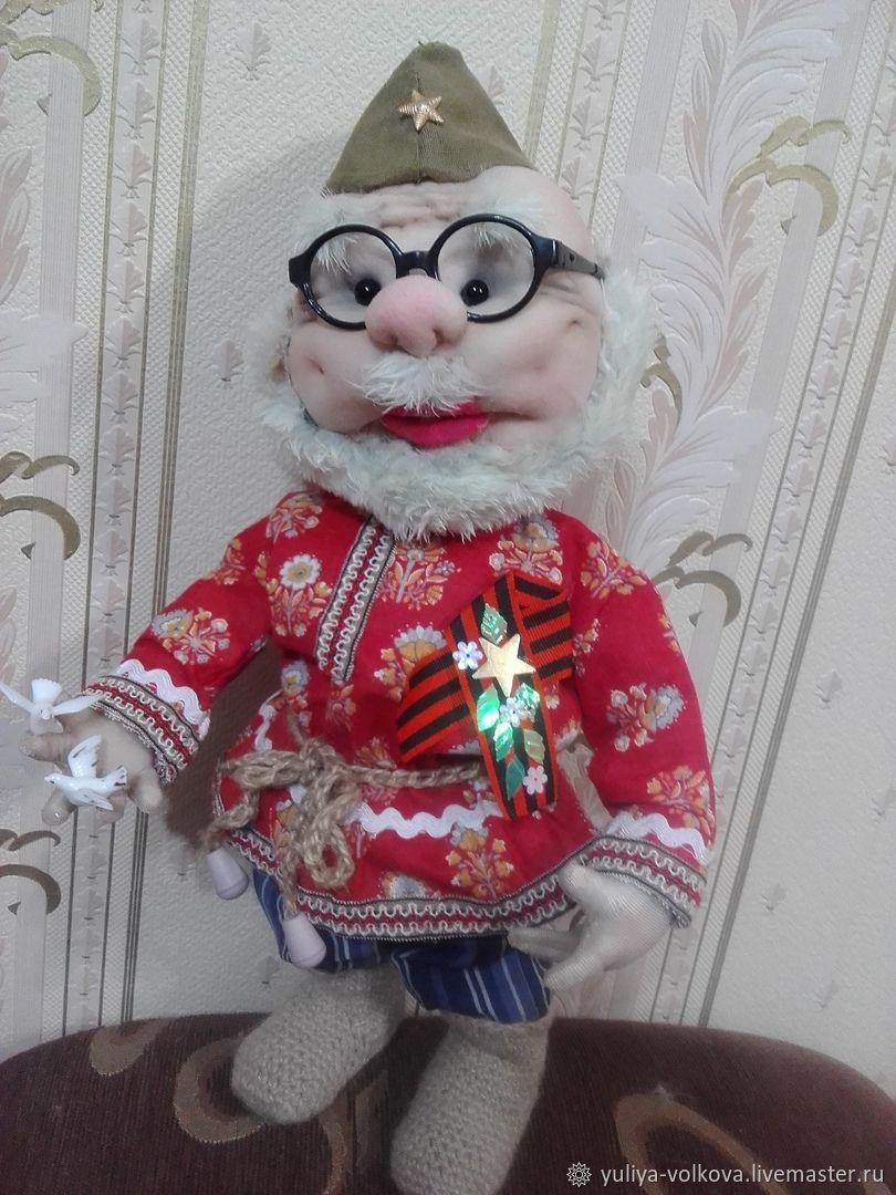handmade. Livemaster - handmade. Buy Veteran Doll.Doll, doll collection, doll textile, doll custom, doll, textile, sintepon