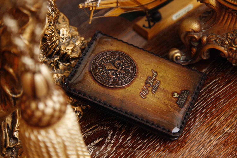 Обложка на паспорт c Орденом Бронзовой Лилии № 91rb, Обложка на паспорт, Комсомольск-на-Амуре,  Фото №1
