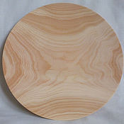 Посуда ручной работы. Ярмарка Мастеров - ручная работа Тарелка кедровая (плоская). Handmade.