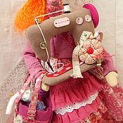Куклы и игрушки ручной работы. Ярмарка Мастеров - ручная работа Тильда Фуксия-рукодельница. Handmade.