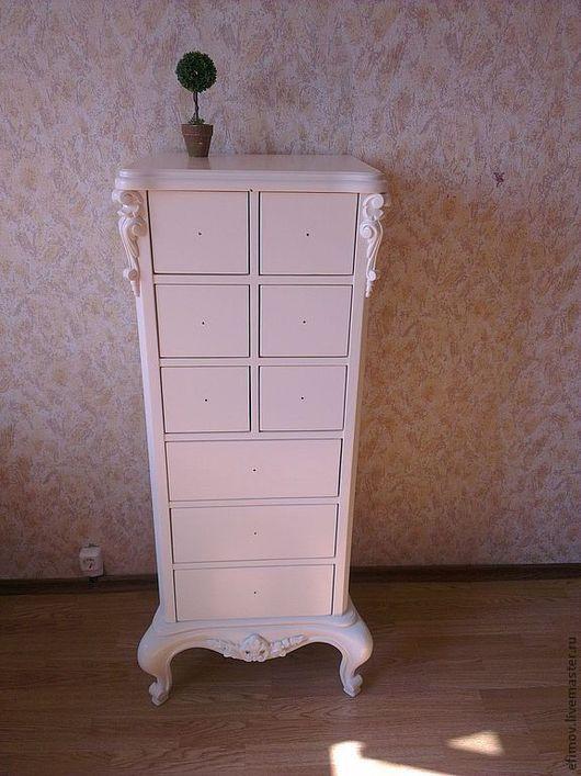Мебель ручной работы. Ярмарка Мастеров - ручная работа. Купить Комод Алина. Handmade. Белый, прованс, фанера