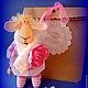 Игрушки животные, ручной работы. Ярмарка Мастеров - ручная работа. Купить Овечка. Handmade. Новый Год, овечка в подарок