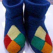 Обувь ручной работы. Ярмарка Мастеров - ручная работа Детские валеночки для дома. Handmade.