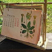 Канцелярские товары handmade. Livemaster - original item Desk calendar