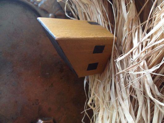 Статуэтки ручной работы. Ярмарка Мастеров - ручная работа. Купить Деревянные домики. Handmade. Сувениры и подарки, дерево, лак акриловый