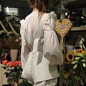 """Одежда ручной работы. Ярмарка Мастеров - ручная работа Шорты и блузка """"Camilla"""". Handmade."""