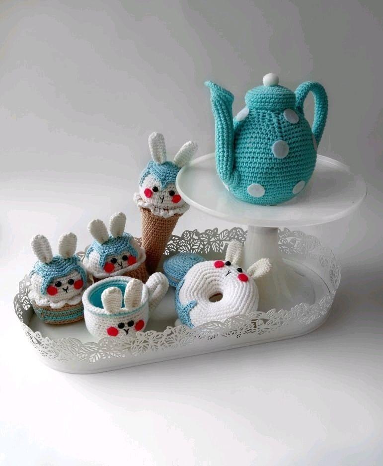 Чайный набор, Кукольная еда, Санкт-Петербург,  Фото №1