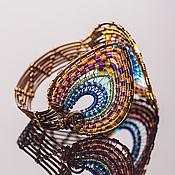 """Украшения ручной работы. Ярмарка Мастеров - ручная работа Браслет """"Peacock"""". Handmade."""