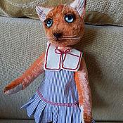 Мягкие игрушки ручной работы. Ярмарка Мастеров - ручная работа Кошечка Маруся. Handmade.