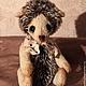 Мишки Тедди ручной работы. Ярмарка Мастеров - ручная работа. Купить Маленький ежик. Handmade. Коричневый, ежик, ежик игрушка