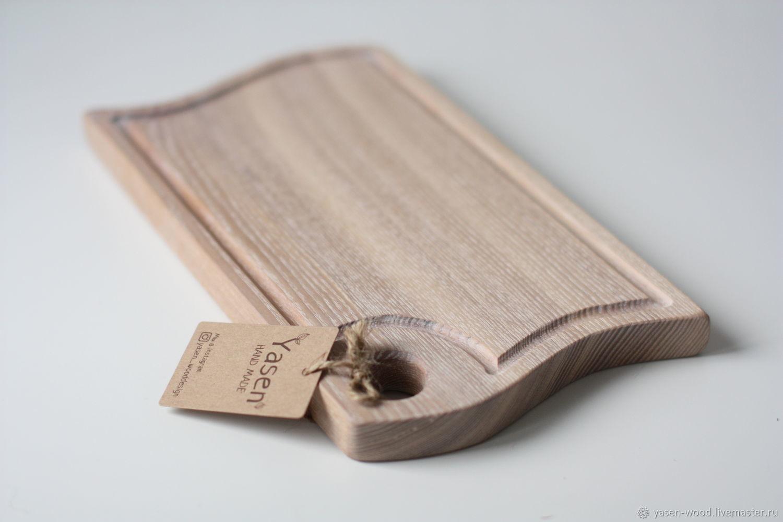 Cutting Board 'Wave', medium. white, Cutting Boards, Moscow,  Фото №1