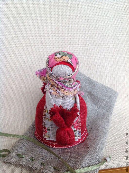 """Народные куклы ручной работы. Ярмарка Мастеров - ручная работа. Купить """"Подорожница""""по мотивам Народной куклы. Handmade. Обережная кукла"""