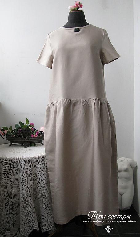 """Платье """"Белые ночи"""" крем"""
