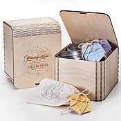 Сувениры и подарки ручной работы. Ярмарка Мастеров - ручная работа Упаковка для чая. Handmade.