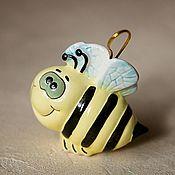 Сувениры и подарки handmade. Livemaster - original item Christmas toy - bee on the tree :). Handmade.