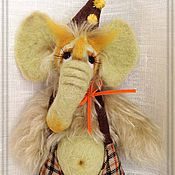 Куклы и игрушки ручной работы. Ярмарка Мастеров - ручная работа Слоник Тобби. Handmade.