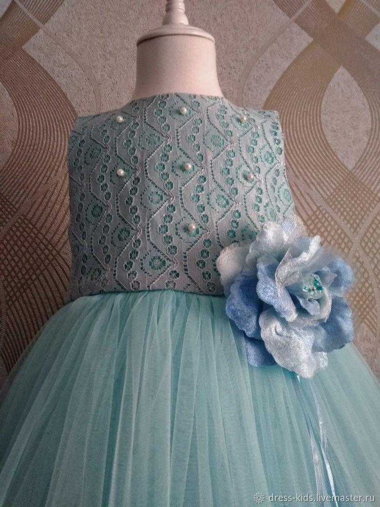 """Нарядное платье """"Голубой ангел"""""""