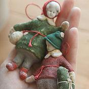 Куклы и игрушки ручной работы. Ярмарка Мастеров - ручная работа Зимний мальчик !. Handmade.
