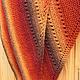 Шали, палантины ручной работы. Шаль Осень (датская шаль традиционная). Домовенок. Ярмарка Мастеров. Шаль, недорого, шерсть